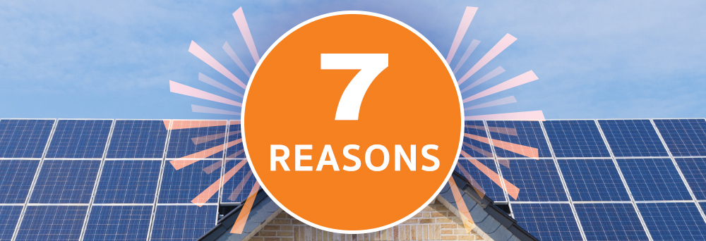 Seven Solid Reasons to Switch to Solar in 2017