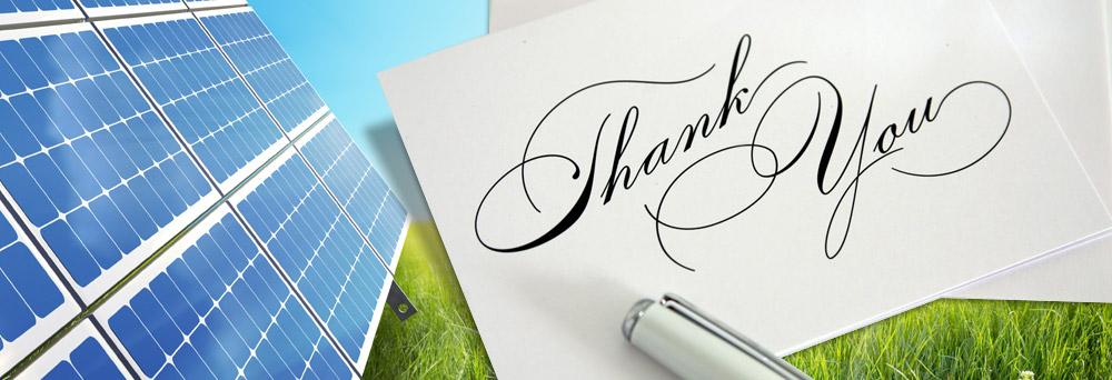 Thank You Solar NH